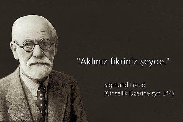 9. Freudyen bir düşünce