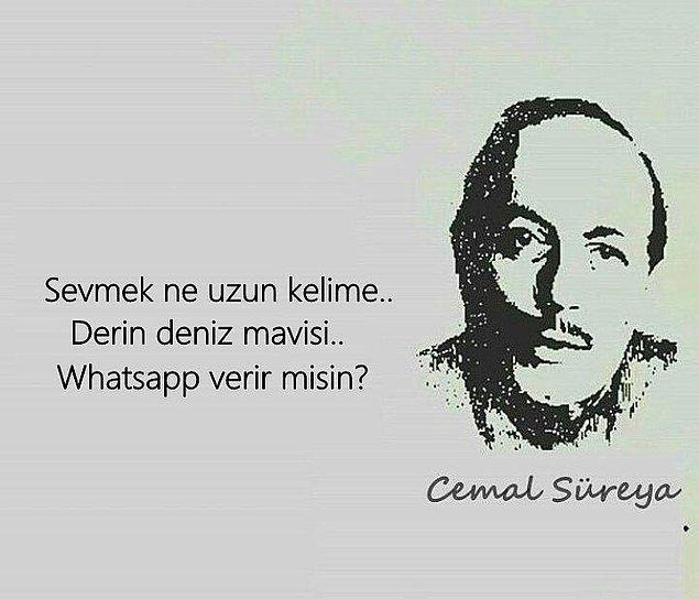 12. Neyse Whatsapp var mı?
