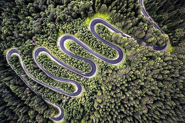 3. Transilvanya'ya Sonsuz Yol, Romanya (Doğa, 2. Sırada)