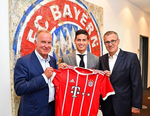 51. James Rodríguez ➡️  Bayern Münih