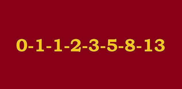 19. Aşağıdaki sayı dizisi hangisine bir örnektir?