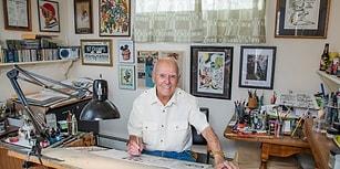 Çıktığı İlk Günden Beri Örümcek Adam Efsanesini Çizgilere Döken 90'lık Sanatçı Joe Sinnott!