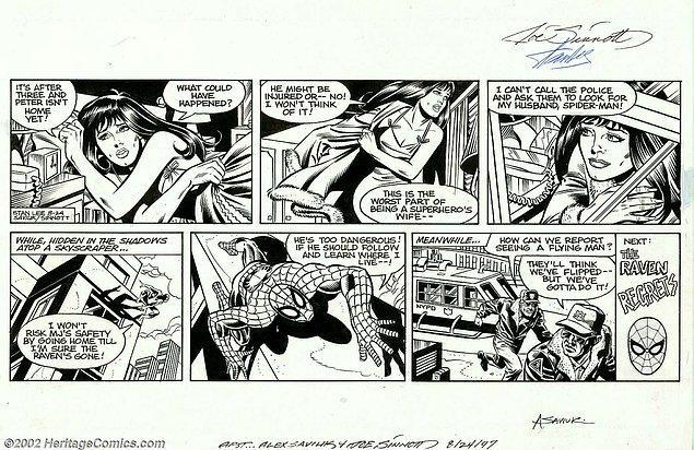 Örümcek Adam çizgi romanının son haline getirilmesi aslında gerçek bir takım çalışması!