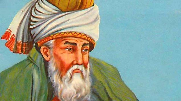 14. Gelin hep beraber bir zaman yolculuğuna çıkalım arkadaşlar: Kendinizi bir an Mevlana Celaleddin Rumi'nin tekkesinde hayal edin...