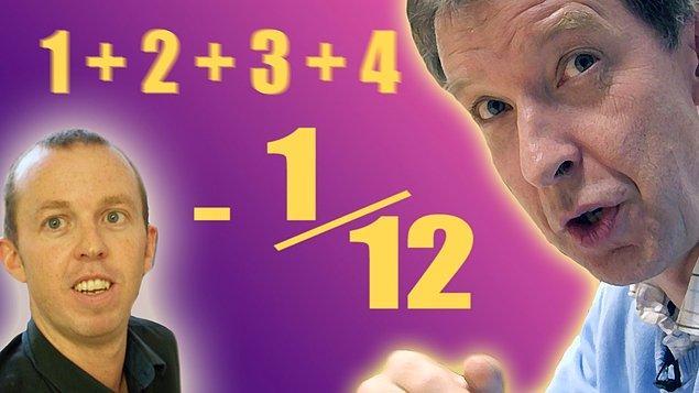 Peki, nasıl oluyor da cevap sonsuz değil de -1/12 olabiliyor?