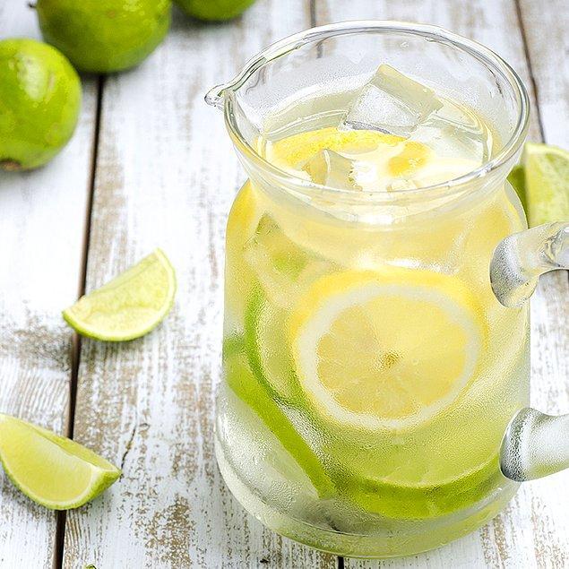 7. Limonun tadını sevmeyenler, suyuna misket limonu ekleyerek bir şans verebilirler.