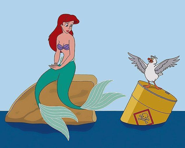3. Yarattığı bu alternatif Disney dünyasında, hakikate hayali kahramanların gözünden bakmak ilginç...