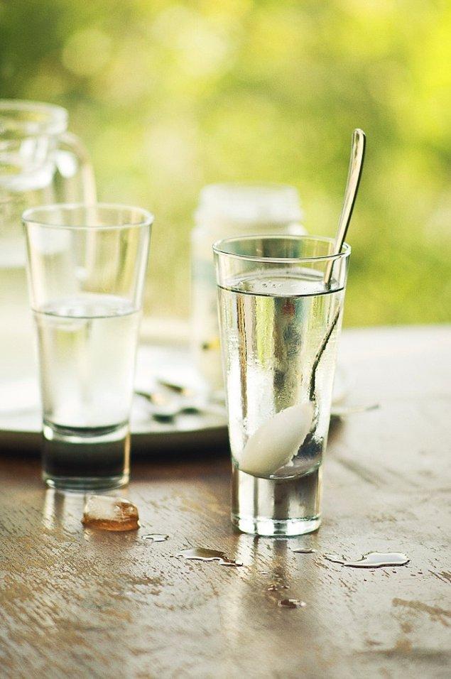11. Türk kahvelerinin yanına çok yakışacak bir su!
