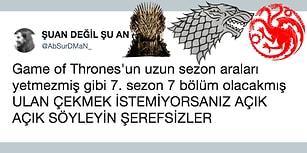 Herkesi Yaklaşan Yeni Sezonunun Havasına Sokacak En Komik 19 Game of Thrones Tweeti