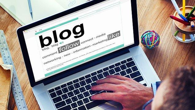 1. Blog Yazarlığı