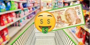 50 Lira Bütçe ile Ev Alışverişini Tamamlamayı Başarabilecek misin?