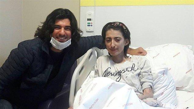 #16 Engin Akyürek de kendisiyle tanışma hayalini kuran hasta hayranını hastane odasında ziyaret ediyor.