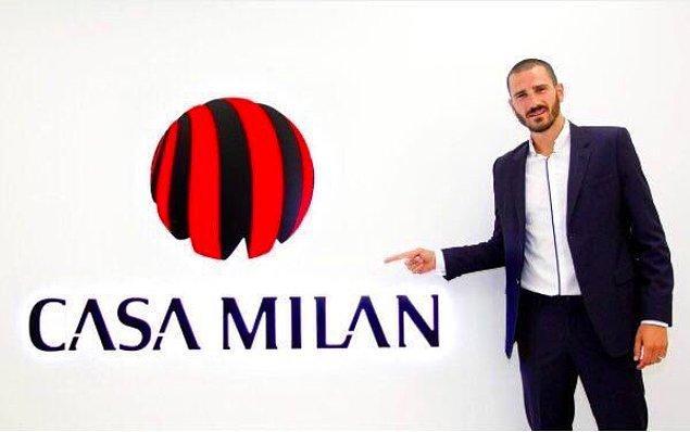 41. Leonardo Bonucci ➡️  AC Milan