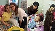 Sessiz Sedasız Yaptıkları İyiliklerle Hasta Çocukları Ziyaret Ederek Sevindiren 25 Ünlü