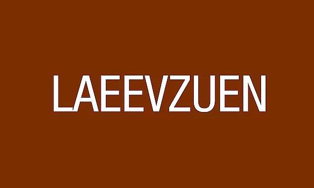 #2 Aşağıdaki harflerle 9 harften oluşan bir kelime oluşturduğunda bu kelime neyi ifade eder?