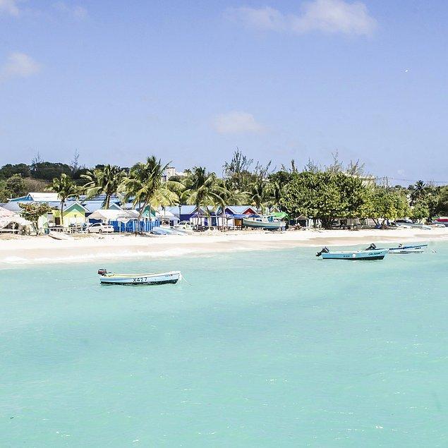 6. E Karayiplere bu kadar yaklaşmışken, rotada neden Barbados olmasın?