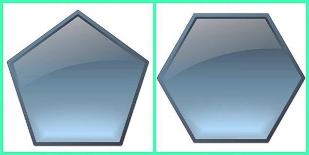 7) Bir altıgenin iç açıları toplamı bir beşgenin iç açıları toplamından kaç derece fazladır?