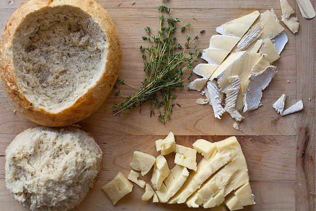 11. Peynir ekmek