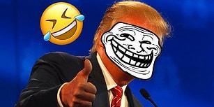 Adeta Dünyayı Trollemeye Gelmiş Olan Trump'la İlgili 17 Güldüren Görüntü