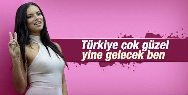 13. Bu heyecanlı Türkiye hikâyesi sona yaklaştığında ülkemize ne kadar da derinden bağlı olduğuyla ilgili açıklamalar yapması.