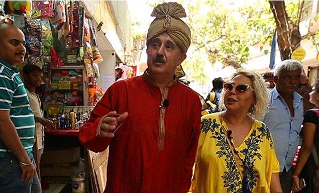 Aşkının peşinden, yüreğinin götürdüğü her yere gidiyor! Yüreği kendisini Hindistan'a götürse dahi...
