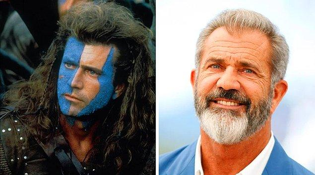 14. Mel Gibson – William Wallace