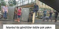Şiddetli Yağmurun Esir Aldığı İstanbul'u Mizahlarıyla Şenlendiren Yağmurzedeler