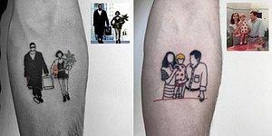Kendine Has Tarzıyla Retro-Minimal Dövmeler Yapan Alican Görgü'den 22 Çalışma