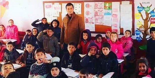 Şehit öğretmenin ikinci görev yeri olan Siverek'in Çiftçibaşı köyüne tayini bu yıl çıkmıştı.