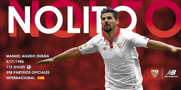 35. Nolito ➡️  Sevilla FC