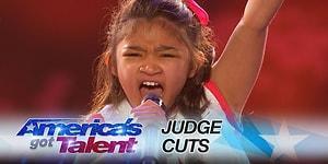 9 Yaşında Amerika Yetenek Yarışmasını Sallayan Kızdan, Bir Muhteşem Performans Daha!