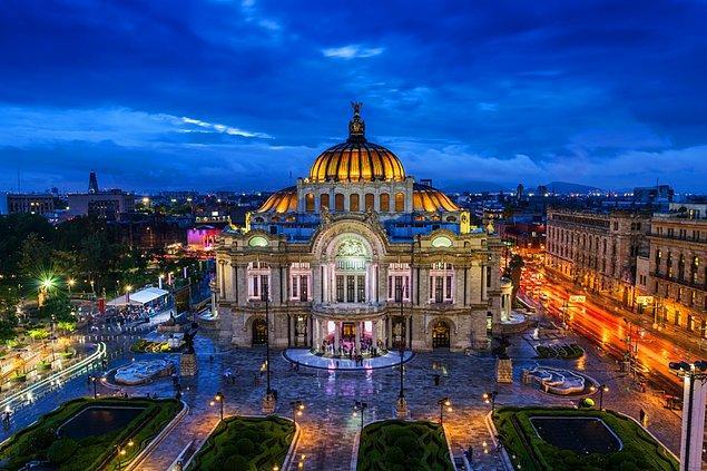 6. Meksiko / Meksika: 637.5 saat