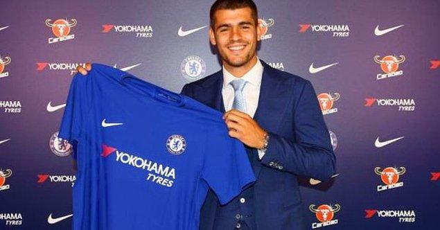 26. Alvaro Morata ➡️ Chelsea