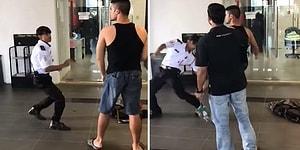 MMA Dövüşçüsüne Kafa Tutan Yürek Yemiş Güvenlik Görevlisi