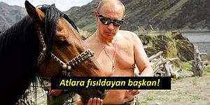 Dünyanın 'En Değişik' Liderlerinden Vladimir Putin'in Hayatından 28 Enteresan Fotoğraf