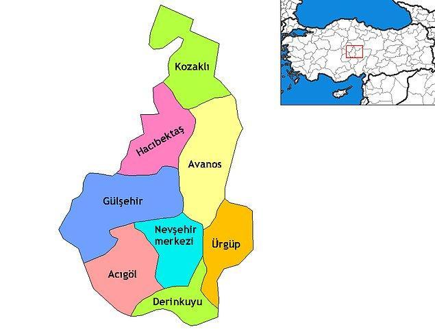 16. Nevşehir Türkiye'nin En Yaşanılır Kenti Sıralamasında İlk 20 de