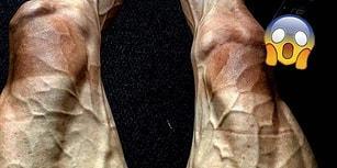 Tour de France Bisikletçisinin, Korku ve Güzelliği Birleştirerek Çok Şey Anlatan Bacakları