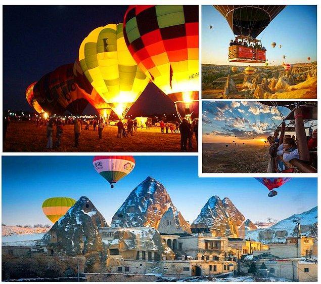 23. Eşi Benzeri Olmayan Doğal Mimarisi ile Dünyanın En Nadide Cennetinde Balon Uçuşları Yapan ve Fotoğraflayan Öğrencilerden Olun