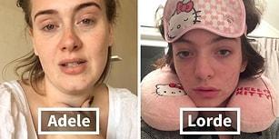 Yaşasın Doğallık! Makyajsız Halleriyle Kameraya Gülümsemekten Çekinmeyen 59 Ünlü Kadın