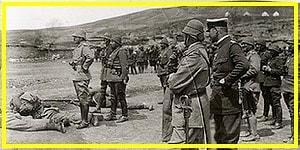 Savaşa Gönüllü Gidip Enver Paşa Tarafından Kurşuna Dizilen Teğmenin Üzücü Hikayesi
