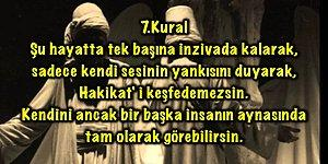 Şems-i Tebrizi'nin Aşk Romanında Geçen 40 Kuralı