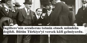 """94. Yıl Dönümünde Büyük Bir Zaferin Tescili ''Lozan Barış Antlaşması'nın"""" Hikayesi"""