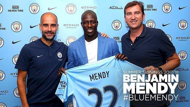 24. Benjamin Mendy ➡️ Manchester City