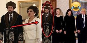 Kazakistan'ın Geleneksel Kıyafetini Giyip Saniyesinde Capse Dönüştürülen Nicolas Cage