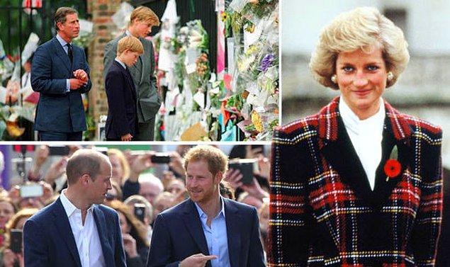 Her iki prens de bu televizyon programında anneleriyle olan ilişkilerinden bahsediyor.