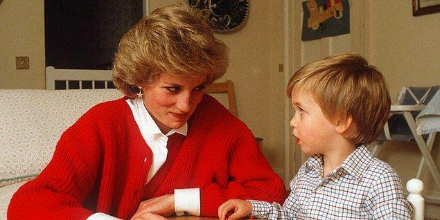 Cambridge Dükü Prens William da muhtemelen annesinin ona hazırladığı komik bir anısından bahsediyor.