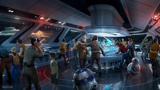 Aynı zamanda 2019 yılında tüm Disney parklarına bir Star Wars alanı eklenecek.