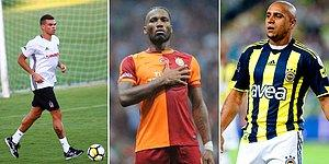 İsimleri Bile Yeter! Süper Lig'de Forma Giyen En Kariyerli 20 Futbolcu
