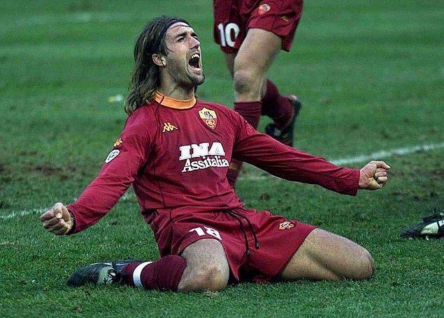 4. Gabriel Batistuta - 155 milyon Euro