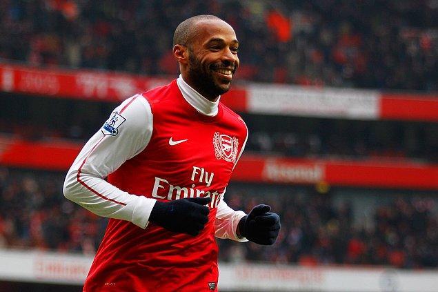 9. Thierry Henry - 180 milyon Euro